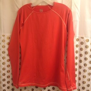 Nike Pro DriFit Workout pullover Long Sleeve Top L